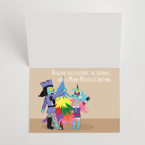 Monster Greeting Cards - 10 Pack