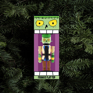 Frankie Flat Top Holiday Ornament