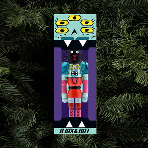 Ajax and Bot Holiday Ornament