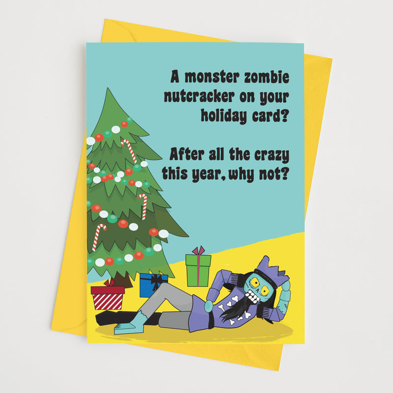 Monster Zombie Nutcracker