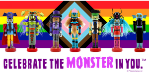 Monster Crackers Celebrate Pride Flag Tee - All Gender