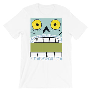 Claustopher Chomp Box Face Adult Tee - All Gender