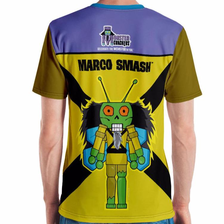 Marco Smash Adult Tee All-Over Print