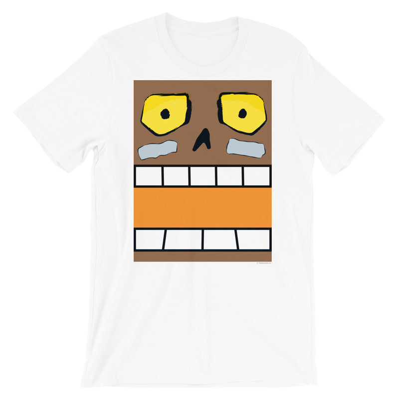 Bayou Bill Box Face Adult Tee - Gender Neutral