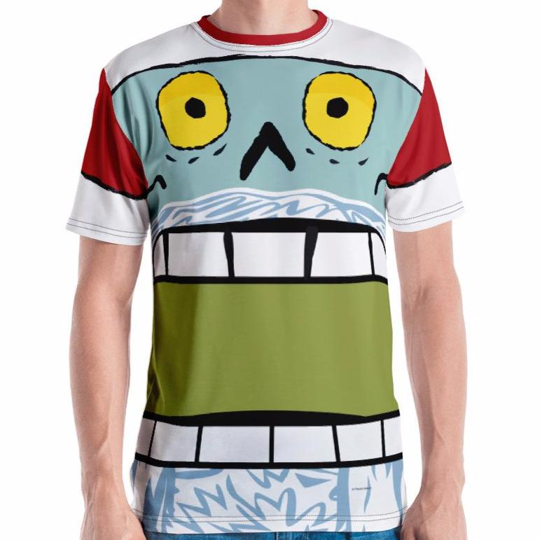 Claustopher Chomp Adult Tee All-Over Print