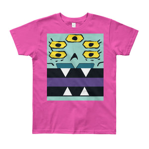 Ajax and Bot Box Face Youth (8-12 yrs) Tee - All Gender