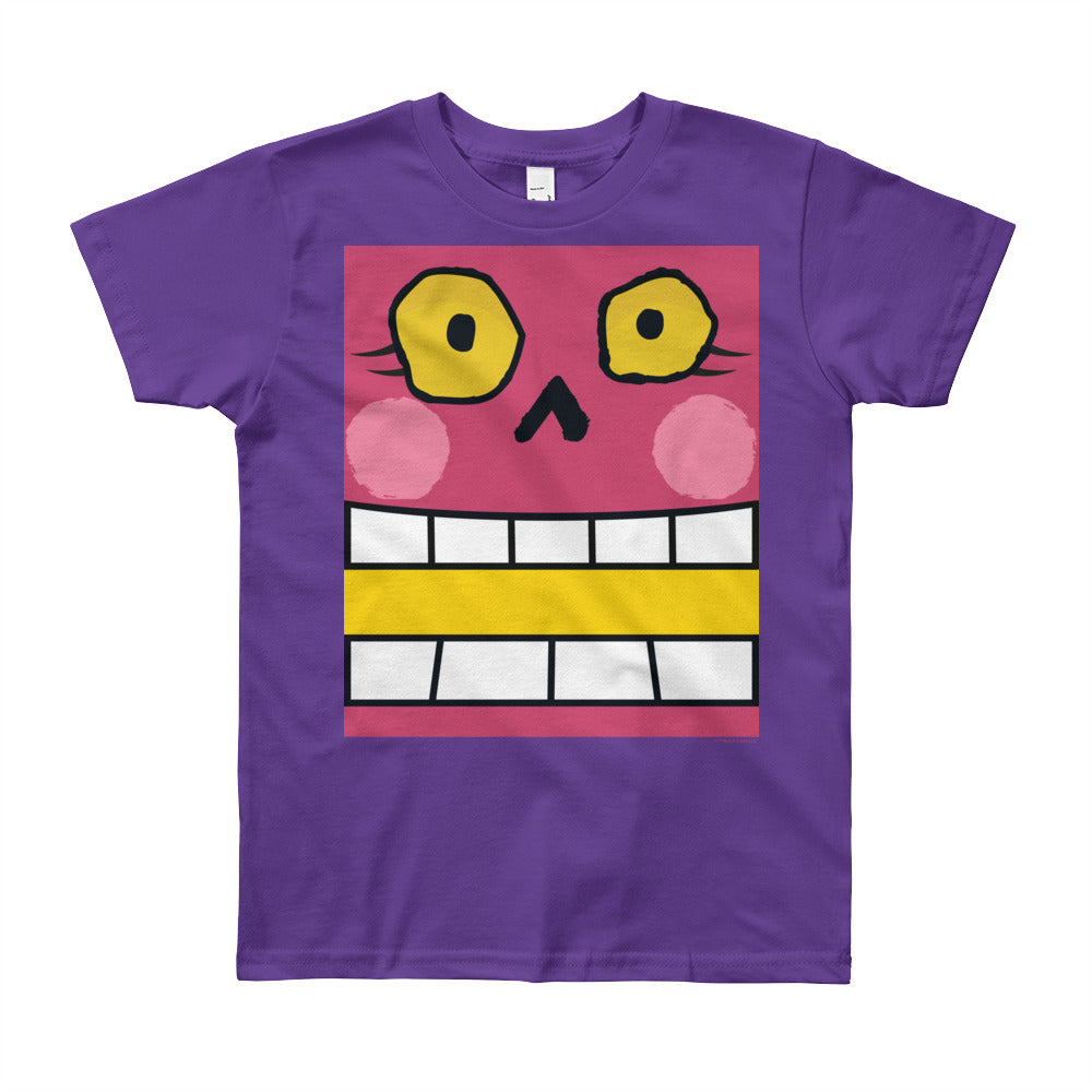 Holly Jolly Grimm Box Face Youth (8-12 yrs) Tee - All Gender