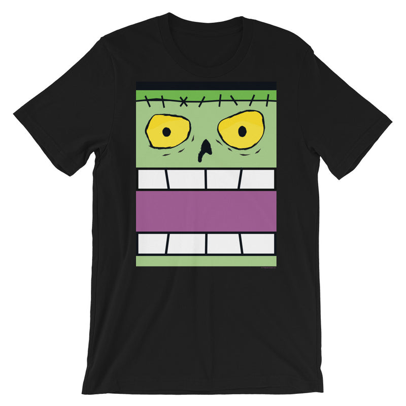 Frankie Flat Top Box Face Adult Tee - All Gender