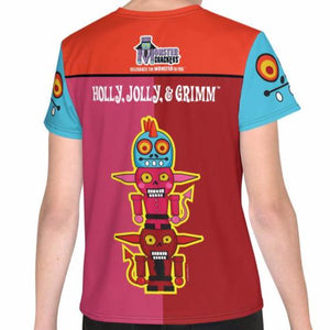 Holly Jolly Grimm Youth Tee (8-20) All-Over Print