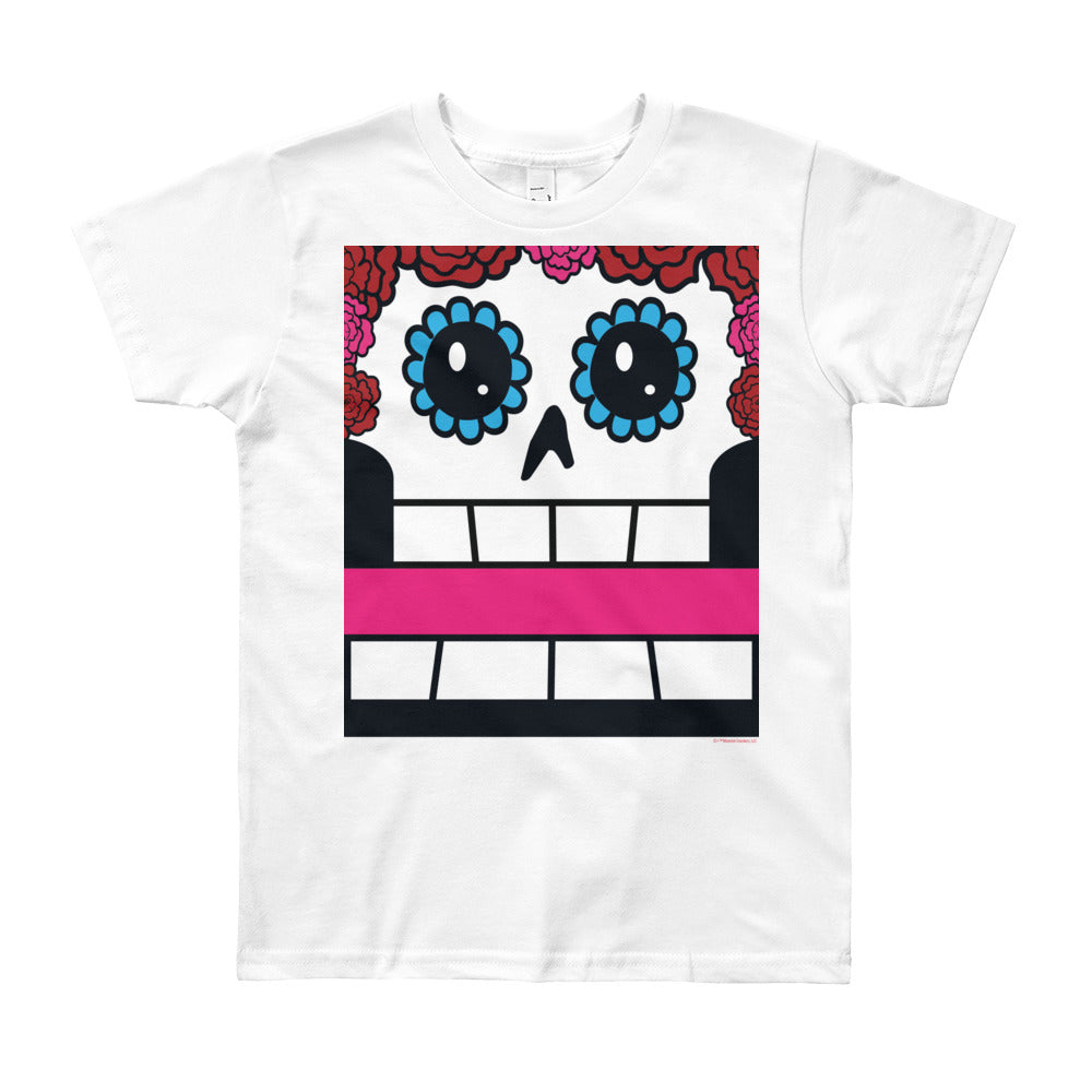 Olyvia Pastel Box Face Youth (8-12 yrs) Tee - All Gender