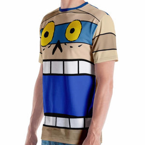 Mummified Mel Adult Tee All-Over Print