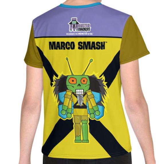Marco Smash Youth Tee (8-20) All-Over Print