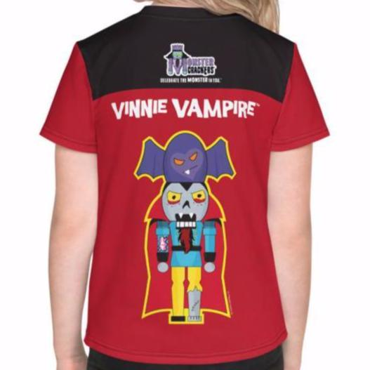 Vinnie Vampire Kids Tee (2T-7) All-Over Print