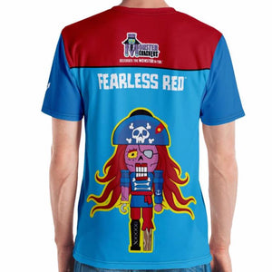 Fearless Red Adult Tee All-Over Print
