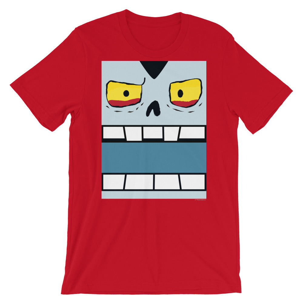 Vinnie Vampire Box Face Adult Tee - Gender Neutral