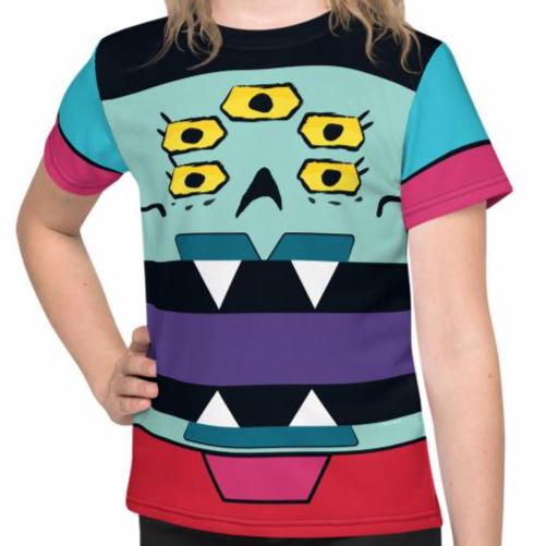 Ajax Bot Box Face Kids Tee (2T-7) All-Over Print