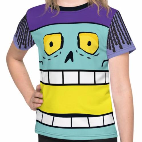 King Chomp Kids Tee (2T-7) All-Over Print