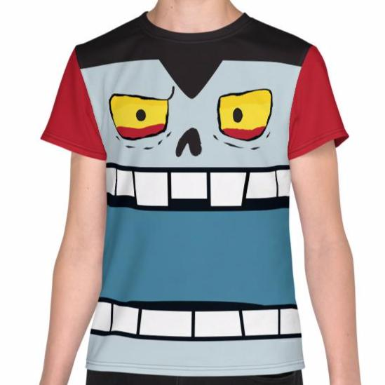 Vinnie Vampire Youth Tee (8-20) All-Over Print