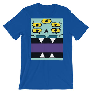 Ajax and Bot Box Face Adult Tee - All Gender