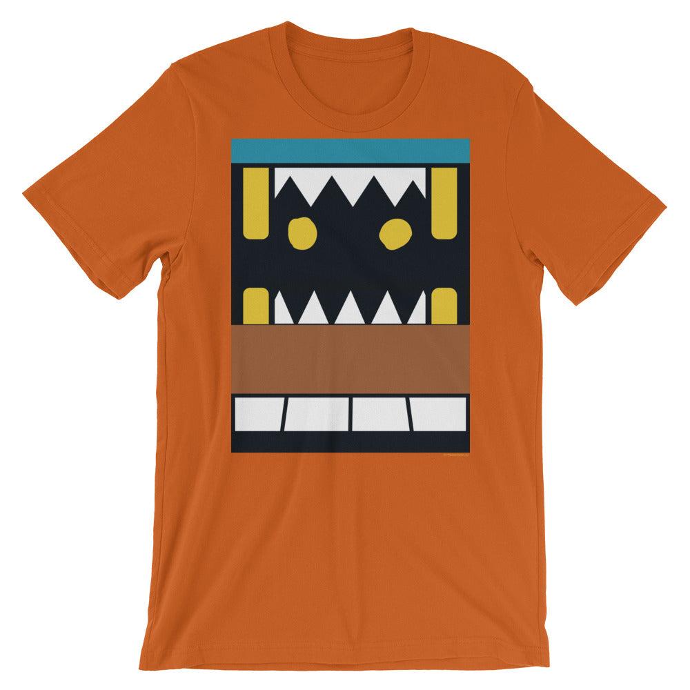Midnight Howl Box Face Adult Tee - All Gender