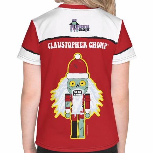 Claustopher Chomp Kids Tee (2T-7) All-Over Print