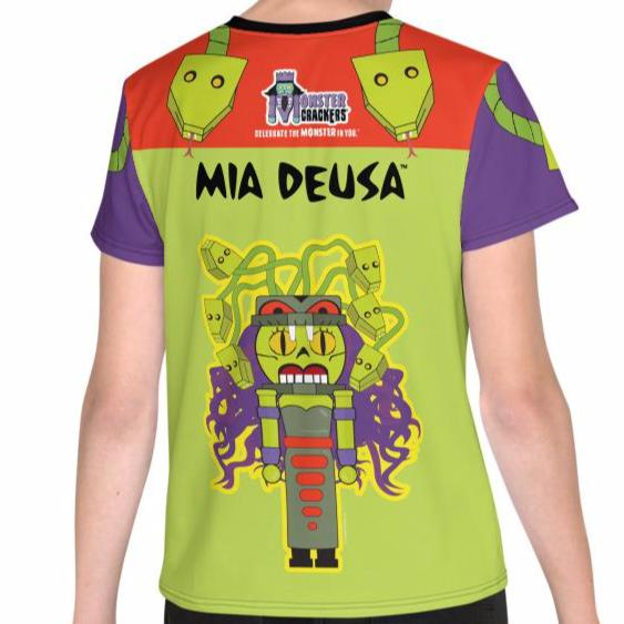 Mia Deusa Youth Tee (8-20) - All Over Print