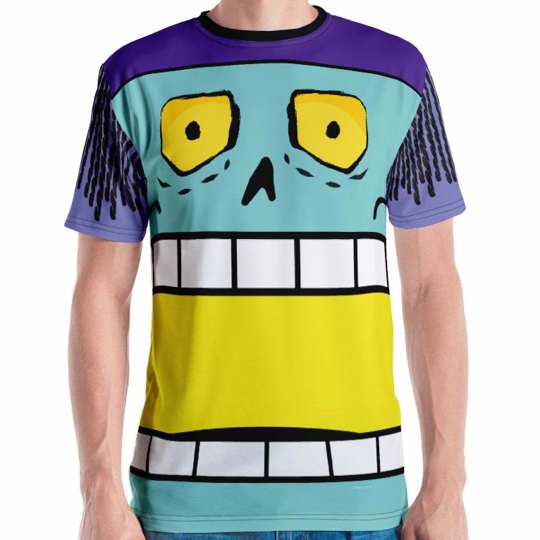King Chomp Adult Tee All-Over Print
