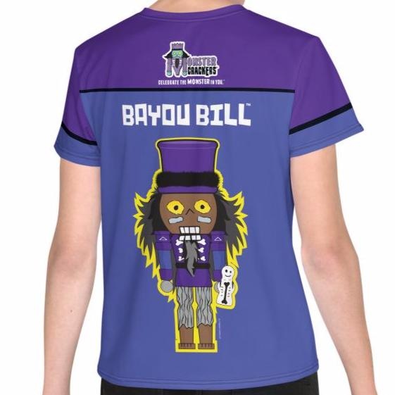 Bayou Bill Youth Tee (8-20) All-Over Print