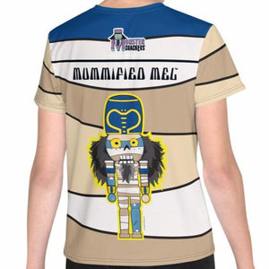 Mummified Mel Youth Tee (8-20) All-Over Print