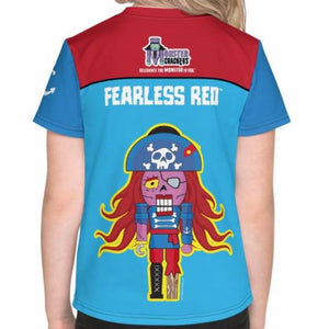 Fearless Red Kids Tee (2T-7) All-Over Print