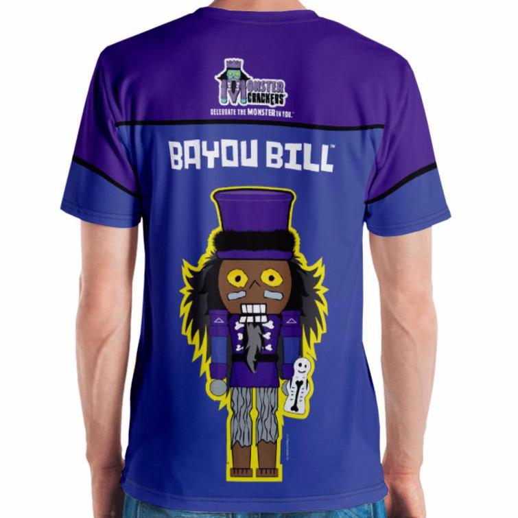 Bayou Bill Adult Tee All-Over Print