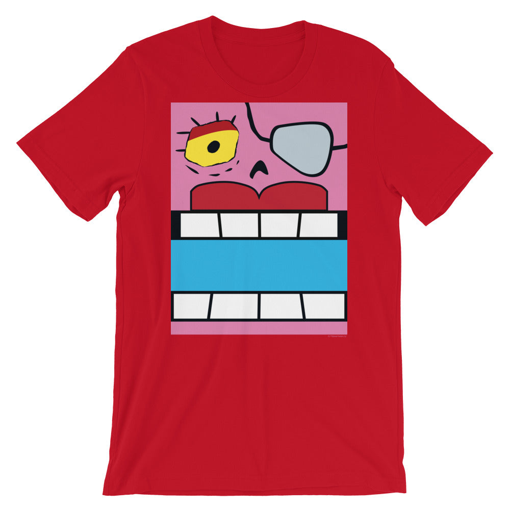 Fearless Red Box Face Adult Tee - All Gender