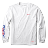 Primitive SPIDER MAN L/S Tee White