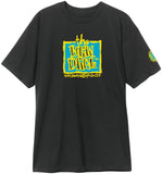 New Deal Original Napkin  S/S Tee Black
