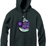 New Deal Spray Can P/O Hood Charcoal Heather