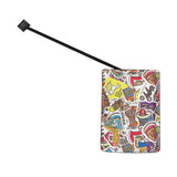 Sticker Pile Luggage Tag