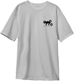 New Deal  Templeton Cat  S/S Tee Silver