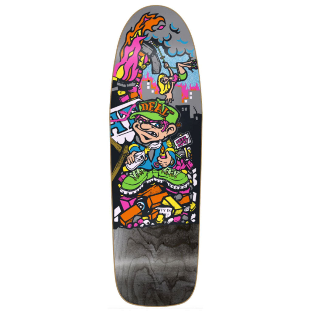 New Deal Howell Molotov Kid SP Deck Black 9.875""