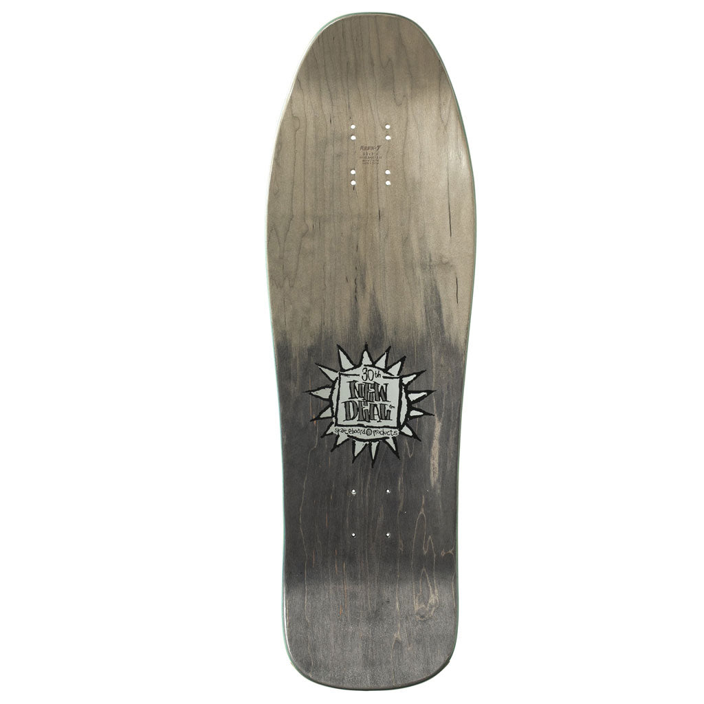 New Deal Templeton Cat Metallic HT Deck Black 9.75""