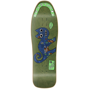 "New Deal Templeton Cat HT Deck 9.75"" Green"