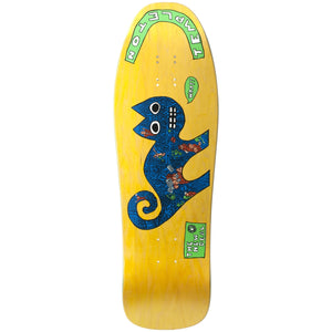 "New Deal Templeton Cat SP Deck 9.75"" Yellow"
