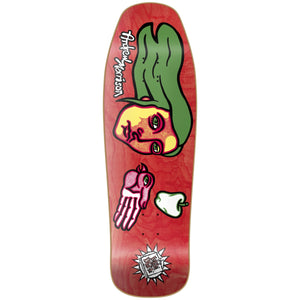 "New Deal Morrison Bird Hand HT Deck 9.875"" Red"