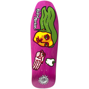 "New Deal Morrison Bird Hand SP Deck 9.875"" Pink"