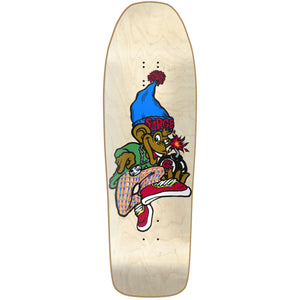 "New Deal Sargent Monkey Bomber HT Deck 9.625"" Natural"