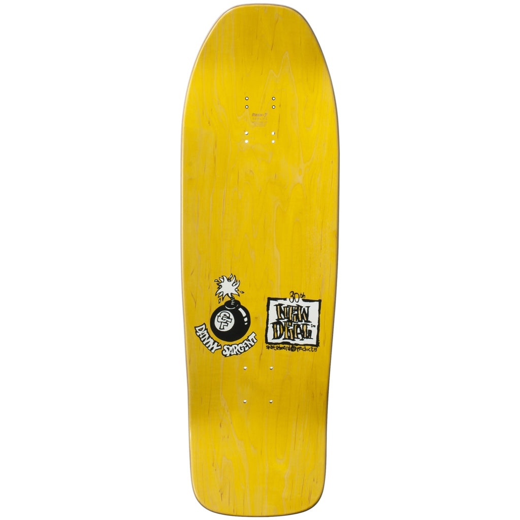 "New Deal Sargent Monkey Bomber SP Deck 9.625"" Yellow"