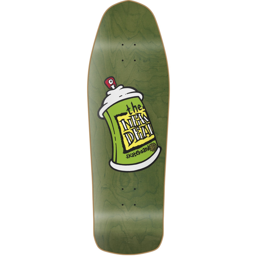 "New Deal Spray Can HT Deck 9.75"" Green"