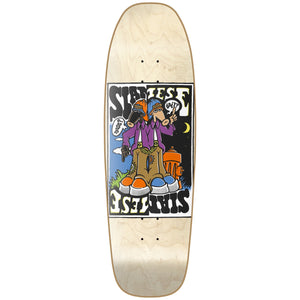 "New Deal Siamese Doublekick HT Deck 9.625"" Natural"