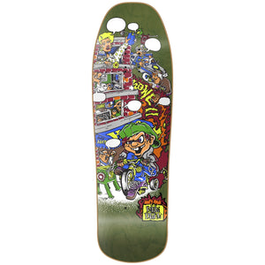 "New Deal Howell Trycycle Kid HT Deck 9.625"" Green"