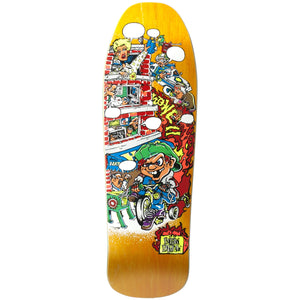 "New Deal Howell Trycycle Kid SP Deck 9.625"" Orange"