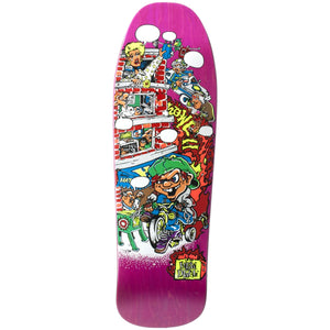 "New Deal Howell Trycycle Kid SP Deck 9.625"" Pink"